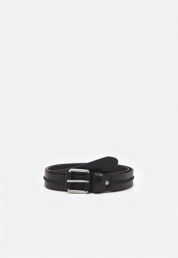 JACROYALE HANDSTITCH - Belt - black