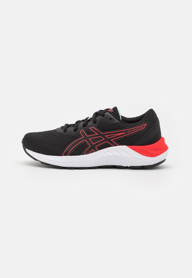 ASICS - GEL-EXCITE 8 UNISEX - Hardloopschoenen neutraal - black/electric red