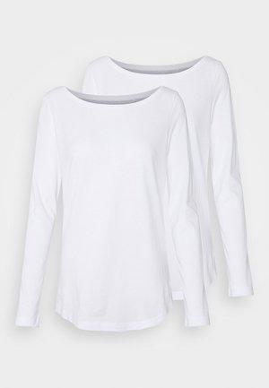 CREW NECK 2 PACK - Basic T-shirt - white