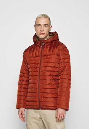 ONSPAUL QUILTED HOOD JACKET - Light jacket - henna