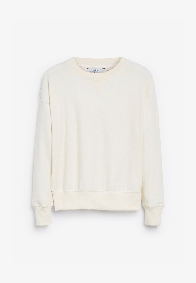 REGULAR FIT - Bluza - off-white