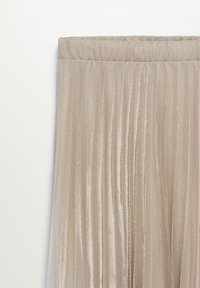 Mango - BREEZE-A - Pleated skirt - beige - 6