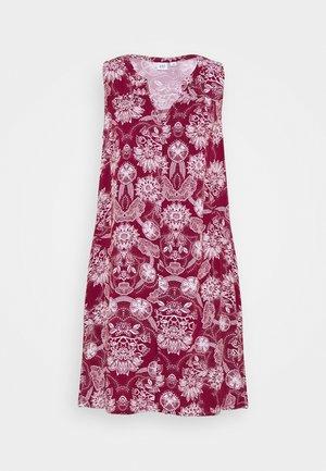 ZEN DRESS - Sukienka letnia - burgundy floral