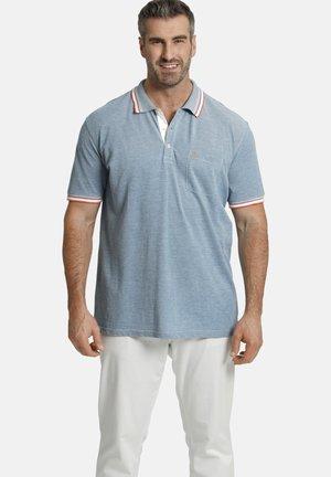 Polo shirt - petrol melange