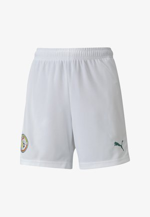 SENEGAL HOME REPLICA YOUTH FOOTBALL - Sports shorts -  white-pepper green