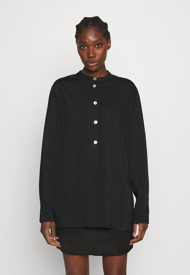 BLOUSE BABE - Langærmede T-shirts - black