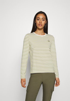 MOA LONG SLEEVE - Long sleeved top - off-white/olive