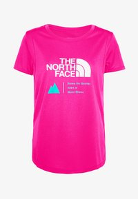 The North Face - GLACIER TEE - T-shirt print - pink - 4