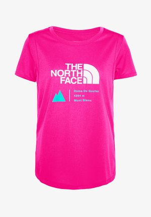 GLACIER TEE - Print T-shirt - pink