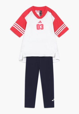 SET - Collants - white/pink