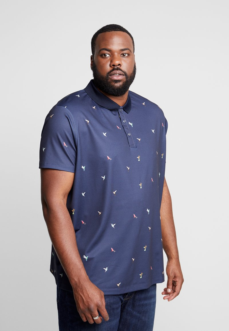 Burton Menswear London - BIRD - Poloshirt - navy