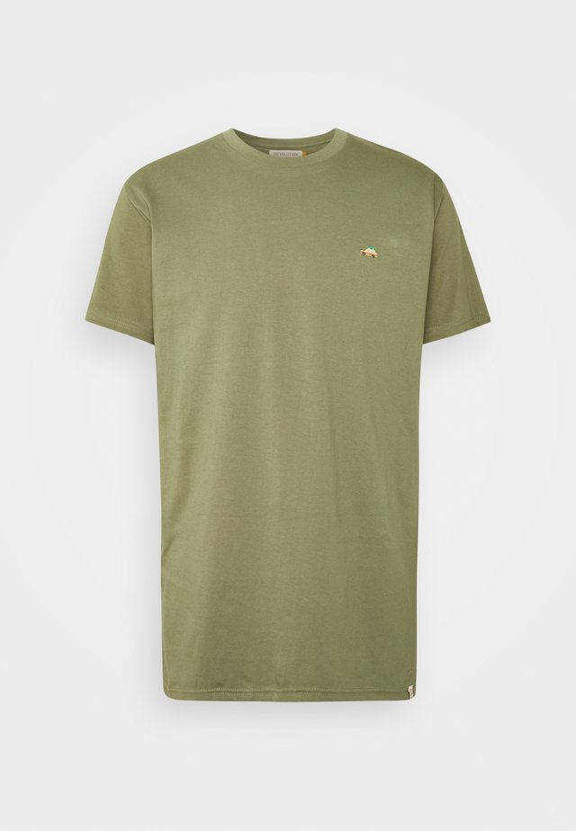 T-shirts med print - army