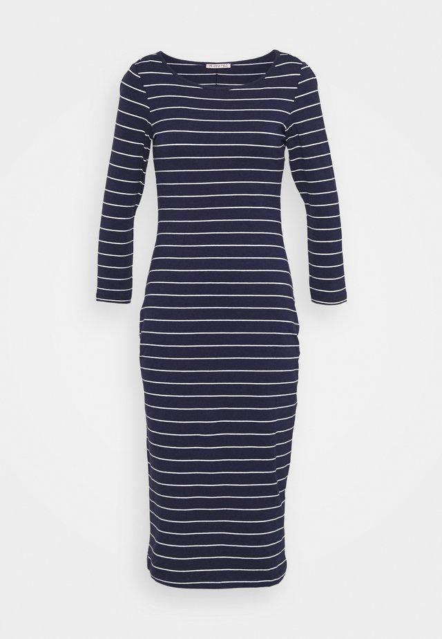 Vestido ligero - dark blue/white
