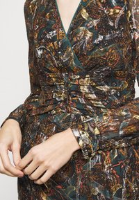 Pinko - ENRICO DRESS - Day dress - multi/verde/arancione - 5