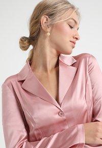 La Perla - LONG PAJAMAS SHORT VERSION SET - Pyjama set - pink powder - 3
