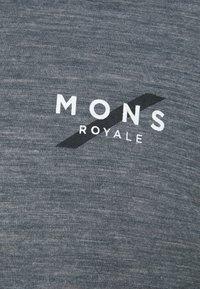 Mons Royale - VAPOUR  - Top sdlouhým rukávem - smoke/slate - 2