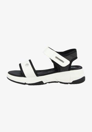Outdoorsandalen - black/white