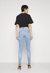 G-Star - 3301 HIGH SKINNY  - Jeans Skinny Fit - indigo aged - 2