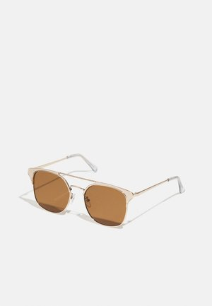 WAYFARER - Sunglasses - gold-coloured