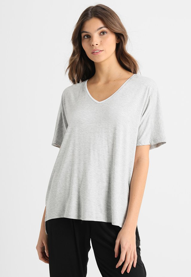 Camiseta de pijama - light grey heather