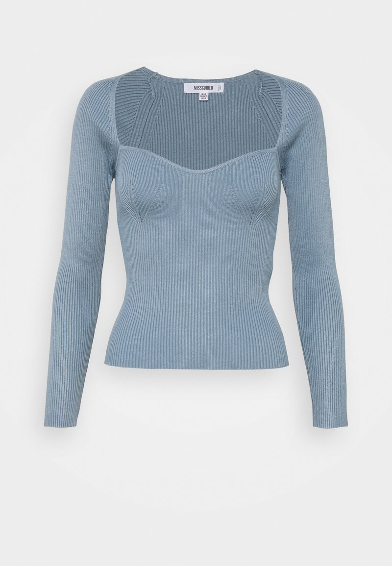 Missguided - SWEETHEART - Jumper - blue