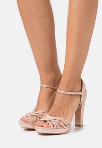 Menbur - High heeled sandals - rose gold - 0