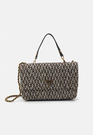 CESSILY CONVERTIBLE XBODY FLAP - Handbag - tan multi