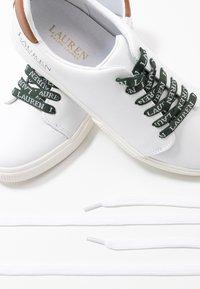 Lauren Ralph Lauren - JOANA - Sneakers - white/deep saddle - 7