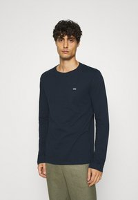 GAP - CREW 2 PACK - Long sleeved top - white/navy - 3