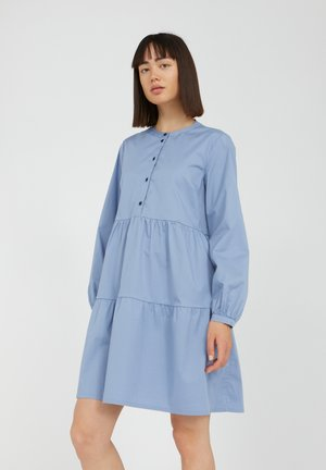 KOBENHAAVN - Shirt dress - foggy blue