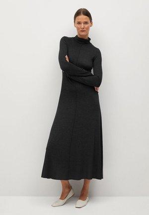 ALMI - Pletené šaty - gris chiné foncé