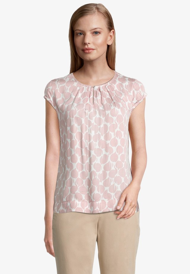 Blouse - cream/rosé