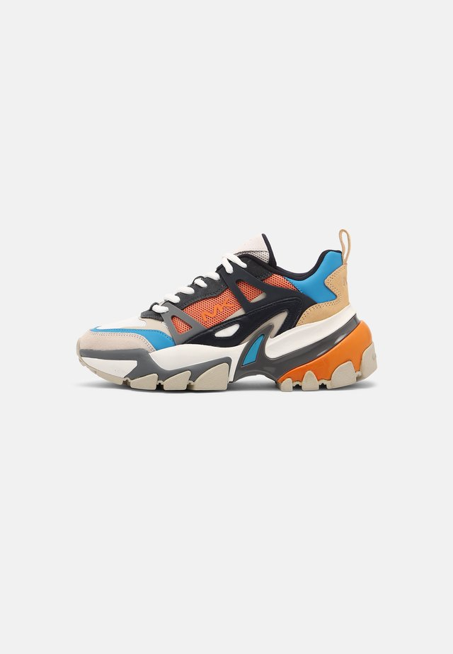 NICK - Trainers - blue multi