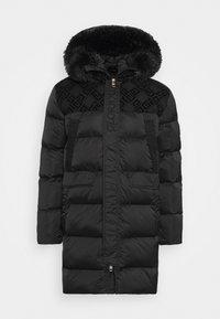 VERNEZ LONG PUFFER JACKET - Winter coat - black