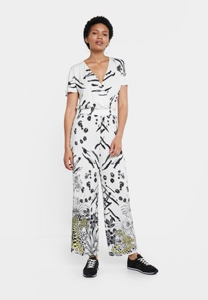 MIKONOS - Overall / Jumpsuit /Buksedragter - white