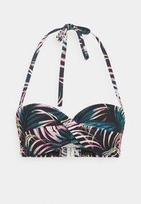 LASCANA - WIRE-BANDEAU - Bikini top - black - 5