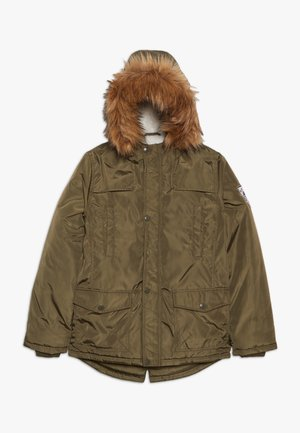 TEEN BOYS - Winter coat - olive night