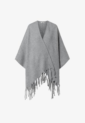 Poncho - light grey