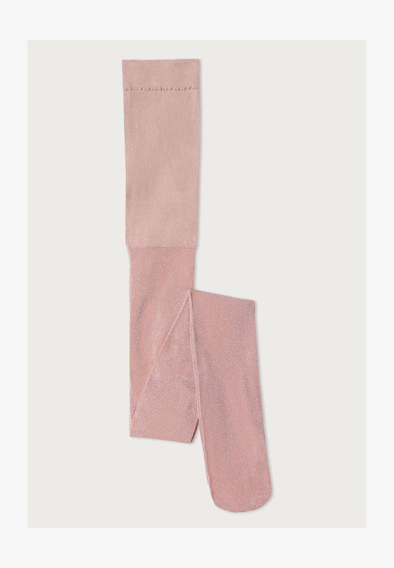Calzedonia - GEMUSTERTE - Tights - rosa - pink glitter