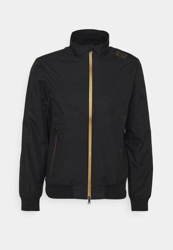 Leichte Jacke - black/gold-coloured