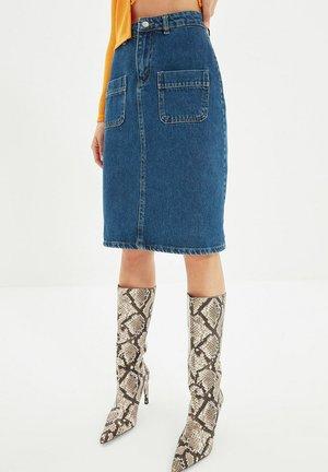 Suknja od trapera - blue