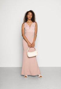 WAL G. - JOSEPHINE DRESS - Společenské šaty - blush pink - 1