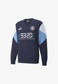Puma - FTBLCULTURE FOOTBALL - MAN CITY  - Felpa - dark blue - 0