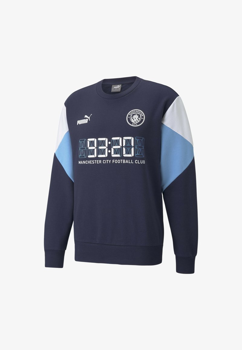 Puma - FTBLCULTURE FOOTBALL - MAN CITY  - Felpa - dark blue