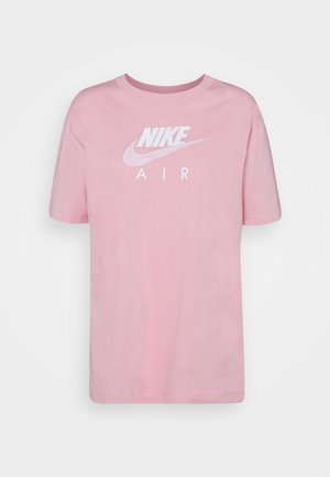 AIR - T-shirt med print - pink glaze/white