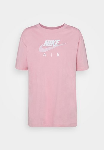 AIR - T-shirt print - pink glaze/white