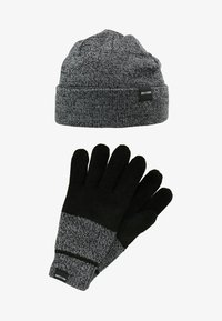 Only & Sons - ONSXBOX GLOVES BEANIE SET - Guantes - black - 6