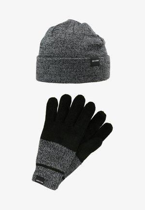 ONSXBOX GLOVES BEANIE SET - Gloves - black