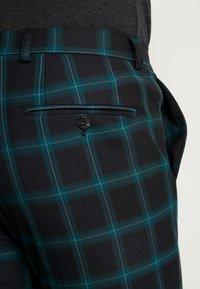 Jack & Jones PREMIUM - JPRSID TROUSER CHECK - Trousers - dark green - 3