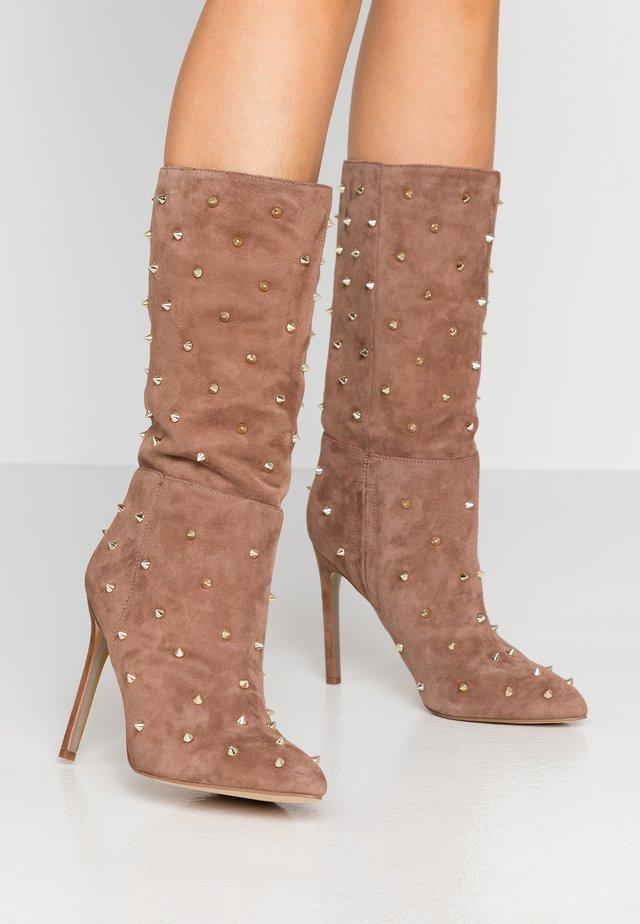 WAYLYN - High heeled boots - praline